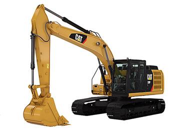 Cat 320 Rental Excavator