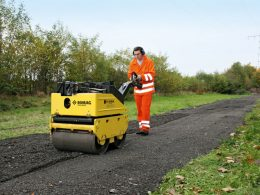 All Choice Rentals Adds Bomag BW 65 H – Walk Behind Double Drum Vibratory Roller To The Fleet