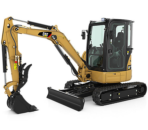 excavator machine rental