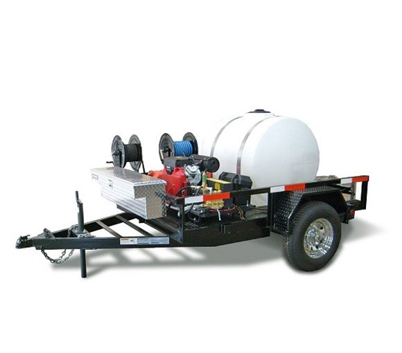 Water Trailer C/W Pump