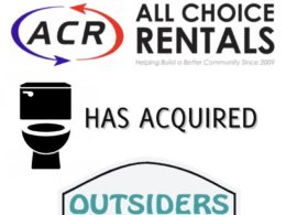 ACR Is Pleased To Announce That It Has Acquired Outsiders Portable Restrooms